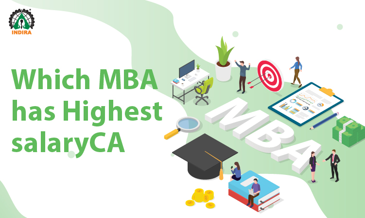 Which MBA has Highest salary